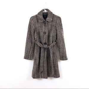 J. Crew Collection Tweed Harriet Wool Trench Coat